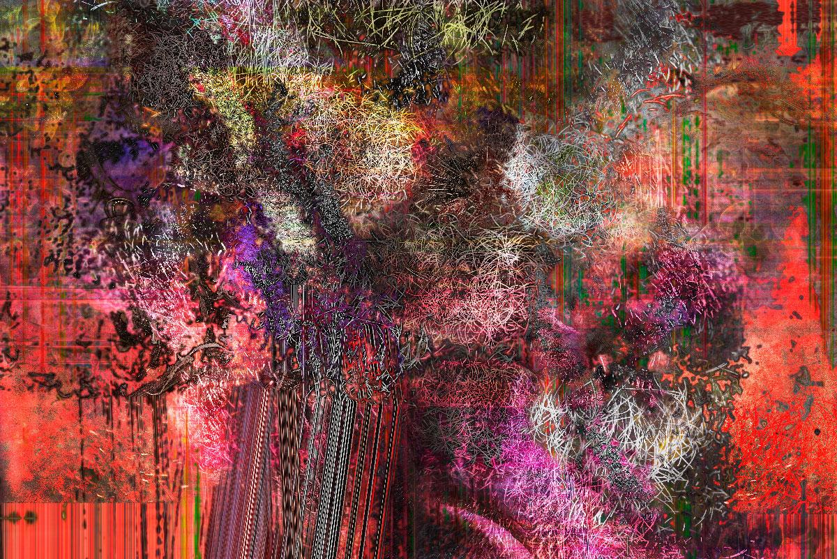 Série Flux - Fleur de peau 2019-07-19 - tirage numérique - 100 x 70 cm - 2019.